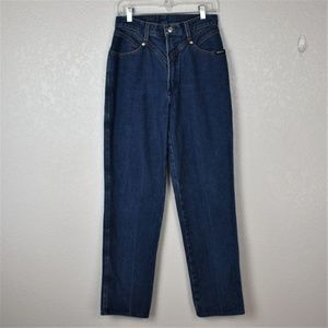 Rockies Vintage High Waisted Med Wash Sz 11 Long